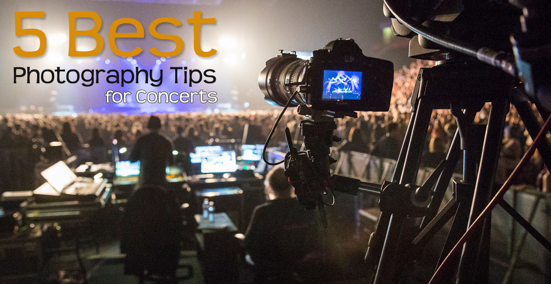 5 Best Photography Tips for Concerts