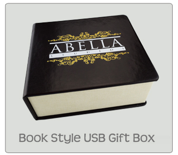 Book Style USB Photo Prints Gift Box