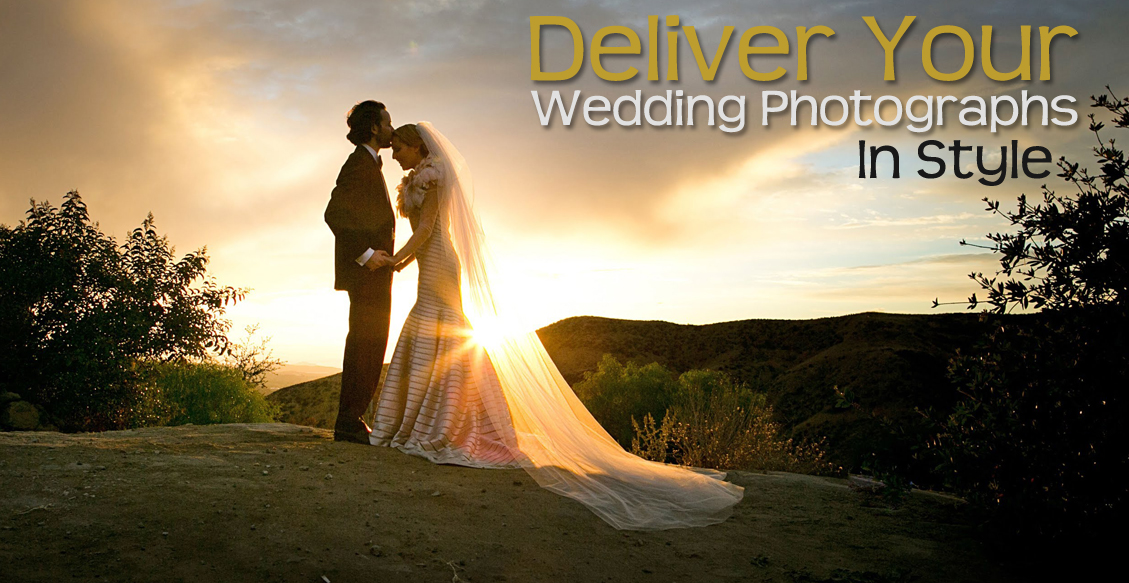 Deliver Your Wedding Photographs In Style