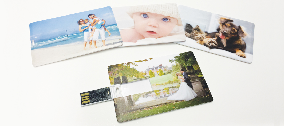 Slim Card USB Memory Stick