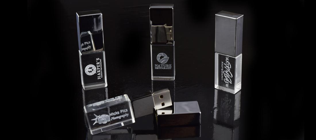 Crystal USB Memory Stick