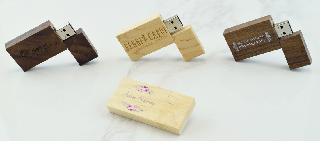Wooden Block USB Memory Stick