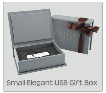 Small Elegant USB Gift Box