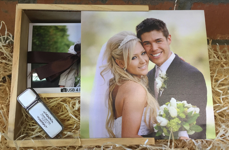 USB Wedding Photography Packaging