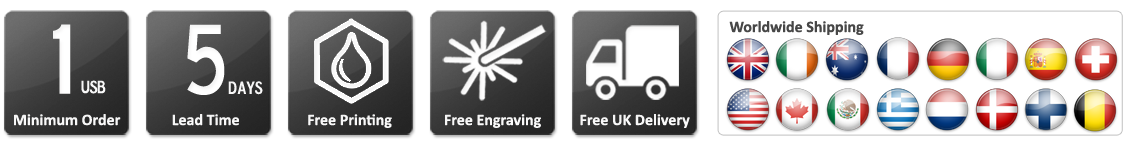 USB-Product-icons