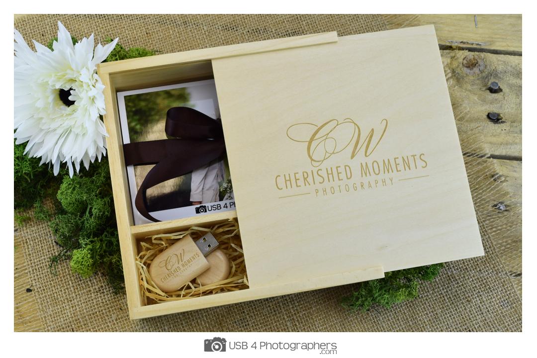 Wooden USB & Photo Prints Gift Box - USB 4 Photographers | USB ...